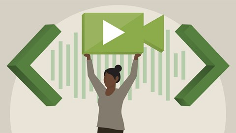 course illustration for Learning Web Audio and Video
