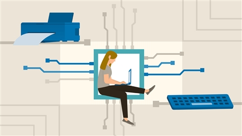 course illustration for CompTIA A+ (220-1001) Cert Prep 4: Storage and Peripherals