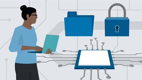 course illustration for CompTIA A+ (220-1002): Cert Prep 8 Security and Organization