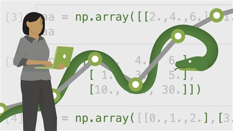 course illustration for Python for Data Science Essential Training Part 1