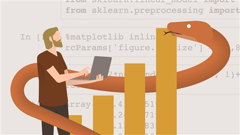 course illustration for Python for Data Science Essential Training Part 2