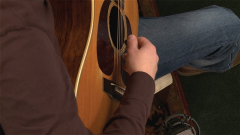 course illustration for Acoustic Guitar Lessons: 4 Feel & Crosspicking