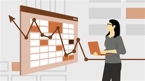 course illustration for Excel Statistics Essential Training: 1