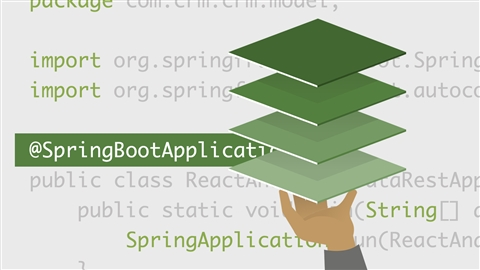 course illustration for Building Full-Stack Apps with React and Spring