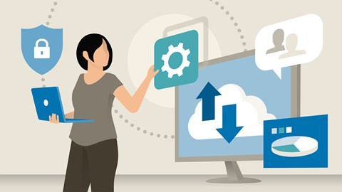 course illustration for Microsoft 365 Essential Training