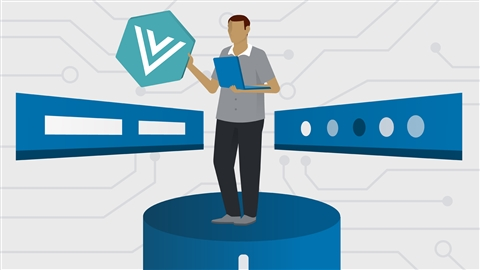 course illustration for Building Vue and Node Apps with Authentication
