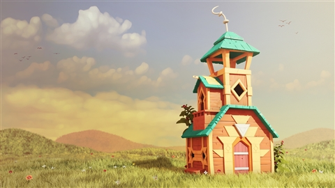 course illustration for 3ds Max: Stylized Environment for Animation