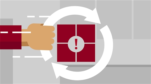 course illustration for Windows Server 2012 R2: Implement Business Continuity and Disaster Recovery