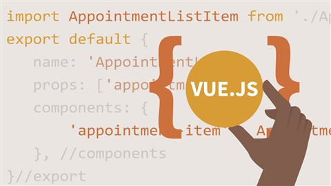 course illustration for Vue.js: Building an Interface