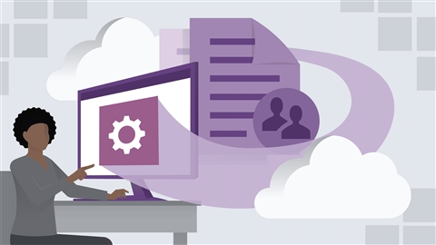 course illustration for Microsoft Managing Modern Desktop (MD-101) Cert Prep: 1 Windows Deployment, Updates, and Policies