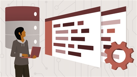 course illustration for Laravel 5 Essential Training