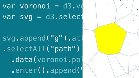 course illustration for D3.js Essential Training for Data Scientists