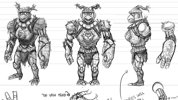 Character Design Lynda : Keeping a sketchbook