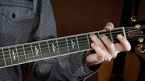 course illustration for Acoustic Guitar Lessons: Intermediate