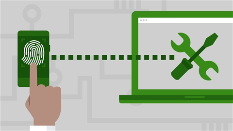 course illustration for Windows 10: Manage and Maintain Windows 10