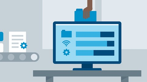 course illustration for Windows 10: Configure and Support Core Services