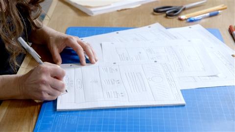 course illustration for Web Design: Efficient Workflow