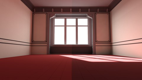 Mental Ray Control Color Bleed In 3ds Max Preview Course