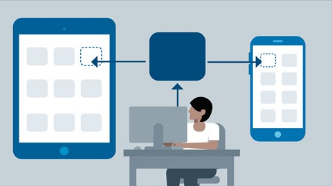 course illustration for Android Development Essential Training: Support Multiple Screens