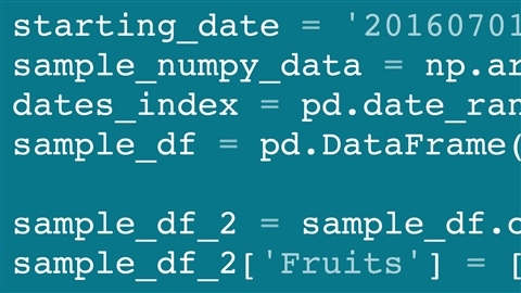 course illustration for pandas for Data Science