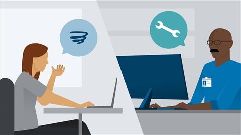 course illustration for IT Service Desk: Customer Service Fundamentals