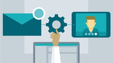 course illustration for Office 365: Configure Exchange Online and Skype for Business Online for End Users