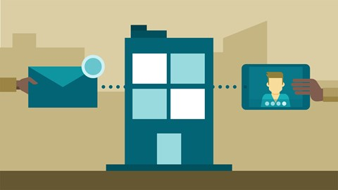 course illustration for Office 365: Plan for Exchange Online and Skype for Business Online