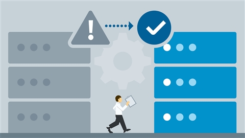 course illustration for VMware vSphere: Configure Advanced High Availability Features