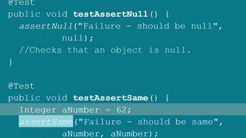 course illustration for Java: Testing with JUnit