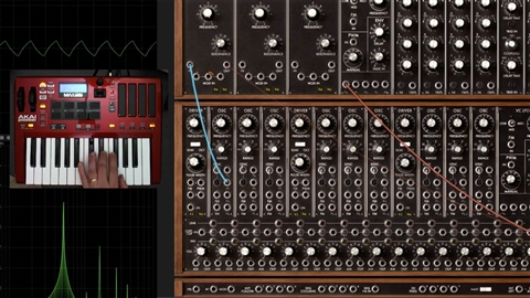 course illustration for Learning Modular Synthesis: Arturia Modular V