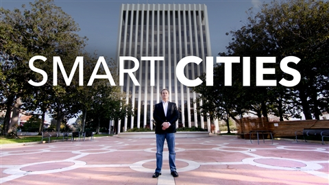 course illustration for Smart Cities: Solving Urban Problems Using Technology