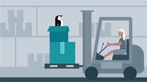course illustration for Linux: Storage Systems