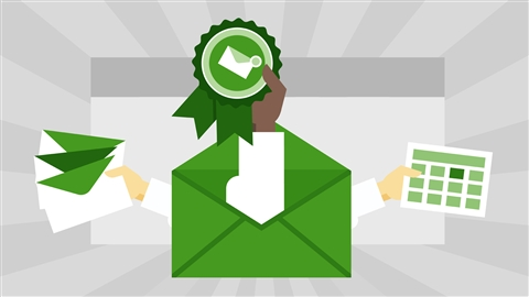 course illustration for Cert Prep: Outlook 2016 Microsoft Office Specialist (77-731)