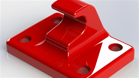 course illustration for SOLIDWORKS: SimulationXpress