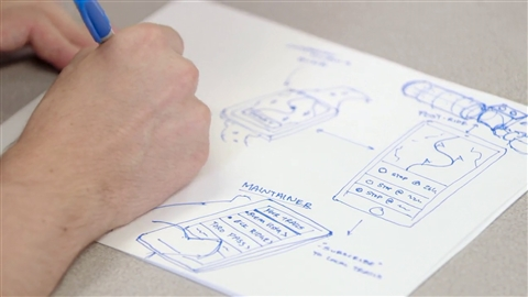 course illustration for UX Design: 4 Ideation