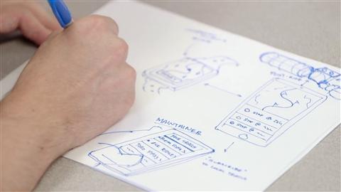 course illustration for UX Design: 4 Ideation