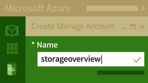 course illustration for Microsoft Azure: Design and Implement a Storage Strategy