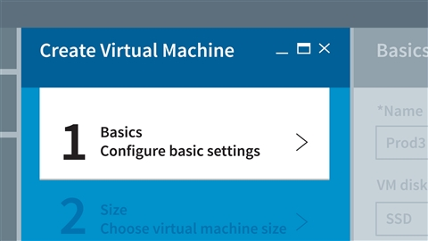course illustration for Microsoft Azure: Create and Manage Virtual Machines