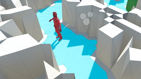 course illustration for Cert Prep: Unity Particle Systems, AI, and Audio