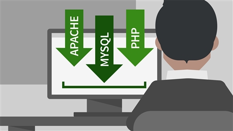 course illustration for Installing Apache, MySQL, and PHP
