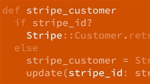 course illustration for Adding Stripe Payments to Your Ruby on Rails Application