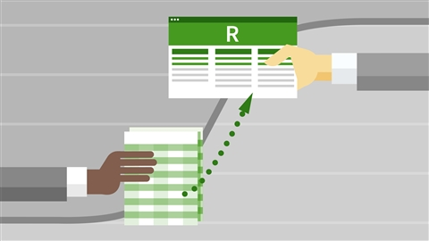 course illustration for Logistic Regression in R and Excel