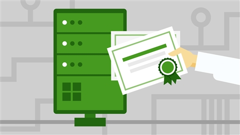 course illustration for Windows Server 2016: Active Directory Certificate Services