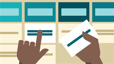 course illustration for UX Research Methods: Card Sorting