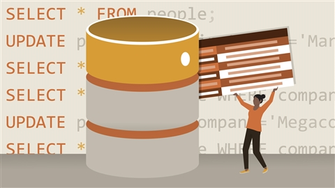 course illustration for Learning SQL Programming