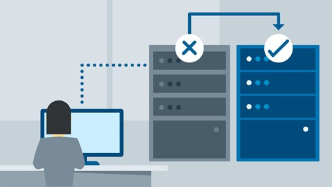 course illustration for Windows Server 2016: High Availability