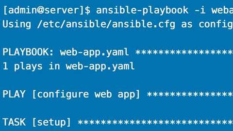 course illustration for Learning Ansible