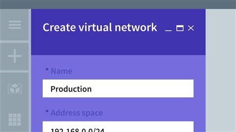 course illustration for Microsoft Azure: Virtual Network Implementation