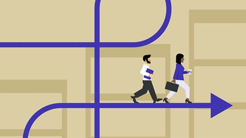 course illustration for Enterprise Agile: Changing Your Culture