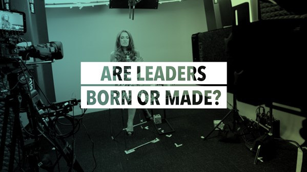 are leaders born or made 2 Are servant leaders born or made 47 sltp 1(1), 46-52 in his seminal book, servant leadership, robert greenleaf (1977), in commenting on the lessons he took from.